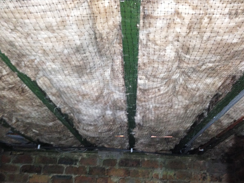 Insulation netting